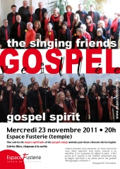 Veillée Gospel - Singing Friends et Gospel Spirit