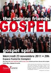 Veillée Gospel - Singing Friends et Gospel Spirit